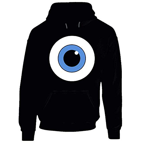 Mike Wazowski Eye Monsters Inc - Sudadera con capucha para disfraz de Halloween.