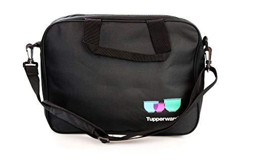 TUPPERWARE Tasche Umhängetasche schwarz Laptop Tasche