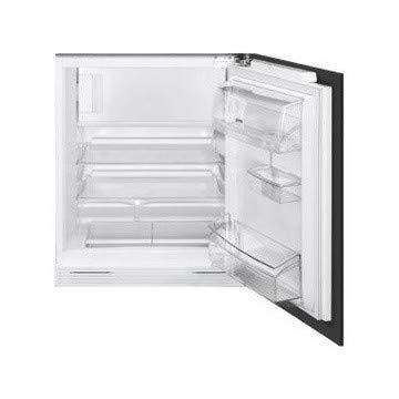 JJ UD7122CSP combi-koelkast, rechts, draaibaar, glas, 117 l