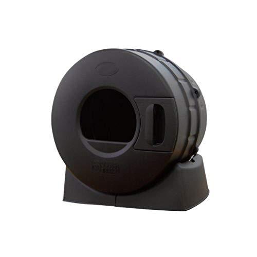 Litter Spinner Cat Litter Box, Black