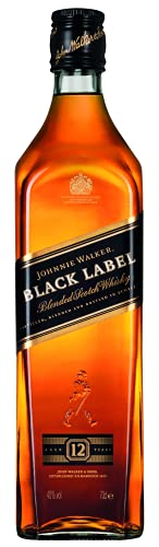 Whisky Johnnie Walker Black Label 12 anos, 750ml