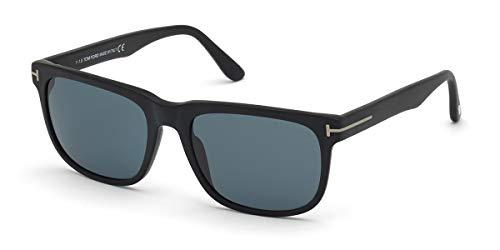 Tom Ford gafas de sol FT0775 STEPHENSON 02N Negro verde tamaño de 56 mm de Hombre