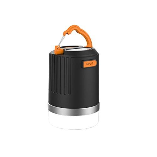 LEDMOMO LED Camping Lanterne Dimmable Camping Lampe Lumière Portable Étanche Rechargeable Lanterne Lumière avec 8800 mAh Puissance Banque