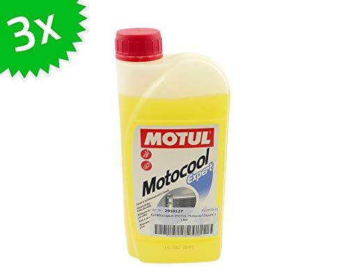 Motul Motocool Expert Lot de 3 flacons de Liquide de Refroidissement pour Scooter 3 l