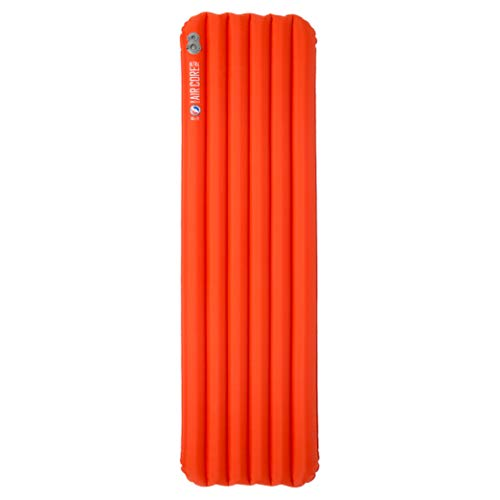 BIG AGNES Insulated Isomatten, Orange, Wide Regular