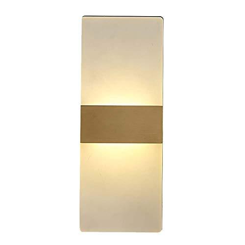 Tous Les Messages de cuivre Cristal Moderne LED Lampe Murale 8W Salon Lampe Chambre Lampe de Chevet Nordic Vent escalier allée Murale 29 * 11 cm