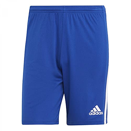 adidas 21, Pantaloncini da Calcio Uomo, La Squadra Blu Royal/Bianco, S