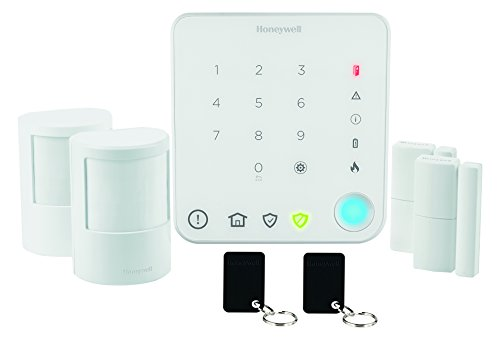 Honeywell Home Security draadloze alarmsystemen startersset, wit, HS330S