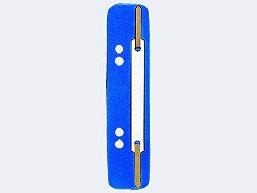 Leitz 3710-00-35 Heftstreifen und Aktenbinder PP 3.5x15.8cm 25 stück blau