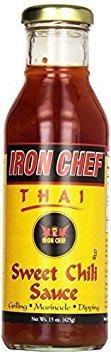 IRON CHEF Thai Sweet Chili Sauce - 15 oz (Pack of 2)