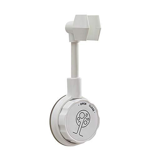 handbrause halterung ohne bohren,shower head holder,halterung duschkopf,Verstellbar Duschhalterung für Handbrause oder Duschkopf ABS Grade Kunststoff (Weiß)