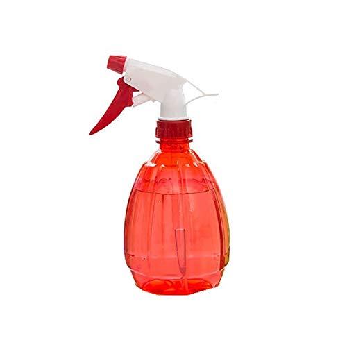 Xiton Bouteille de pulvérisation en Plastique 500ML Ronde Bouteille Vide en Forme de Bouteille de pulvérisation d'eau pour l'arrosage des Plantes Salon de beauté (Rouge)
