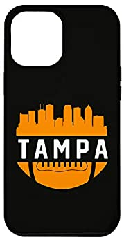 iPhone 12 Pro Max Vintage Downtown Tampa Bay FL Skyline Football Case