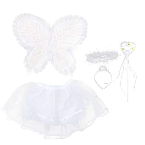 GALPADA 1 Juego de Alas de Fiesta de Cumpleaños de Hada de Disfraz de Mariposa para Niñas Disfraz de Ángel Alas de para Fiesta de Halloween