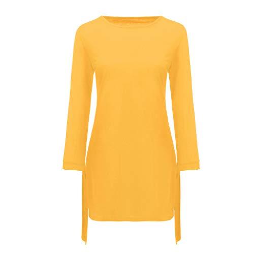 manadlian Mini Robe Ete Femmes Manche Courte Robe de Plage Col Rond Chic Mini Dresses Pas Cher Jupons Midi Robes Chemise Elégant Jupons Grande Taille Robes de Plage