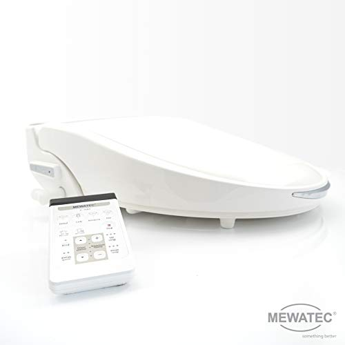 MEWATEC Marken Dusch-WC Aufsatz C700 LED Bidet Toilettensitz
