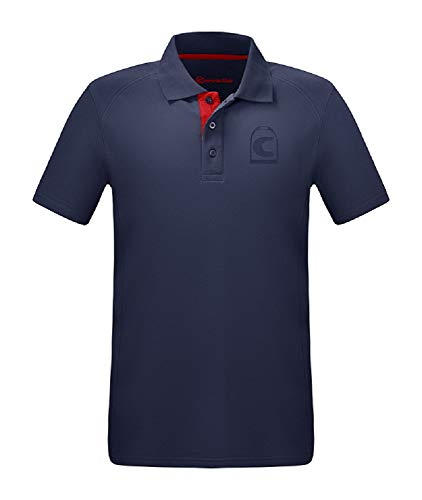 CAVALLO Herren Polo-Shirt Barry, darkblue, L