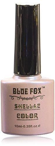 Vernis à ongles gel bleu Renard, bleu pluie Rose 10 ml