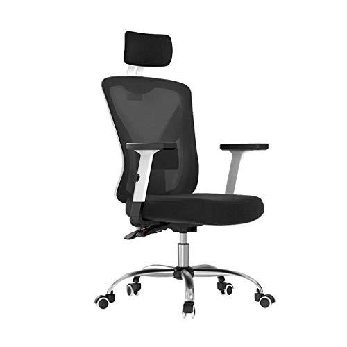 Ergonomic Office Chair, High Back Mesh Desk Chair, Adjustable Headrest and Lumbar Support, Computer Desk Task Chair (Color : B)