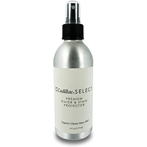 Cadillac Select Premium Water Repellent & Stain Protector Waterproofing Spray Great for use on Suede Shoes, Sheepskin, Nubuck, and Leather