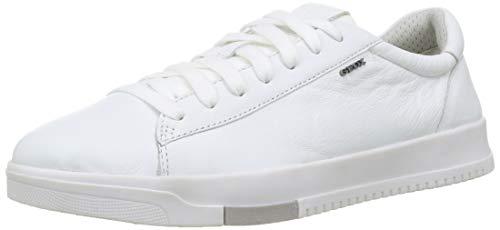Geox Herren U SEGNALE A Sneaker, Weiß White, 43 EU