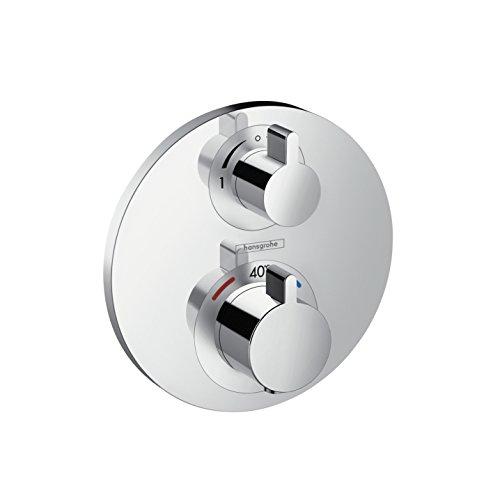 hansgrohe Ecostat S Unterputz Thermostat, für 2 Funktionen, Chrom