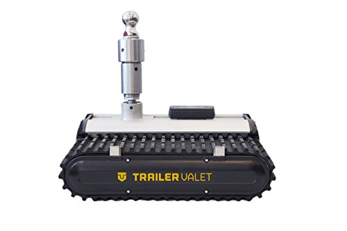 Trailer Valet | RVR9 | Trailer/RV/Boat | Motorized Dolly | Remote Controlled | 9,000 lbs Push/Pull Capacity | Heavy Duty Caterpillar Treads | Includes Free Ball Mount w/ 2 Balls | Single and Dual Axle