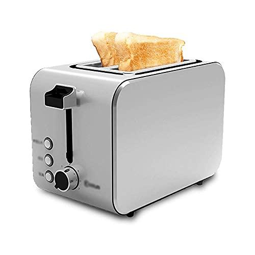 GHJU Qingqiasoshangmao Máquina de Pan de Pan de Acero Inoxidable de Acero Inoxidable de Horno Máquina de Desayuno de la tostadora