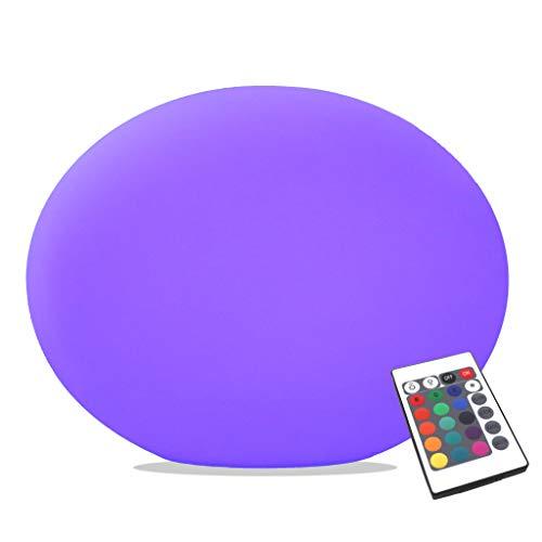 PK Green Lampe Table LED Design sans Fil, Multicolore, 27cm