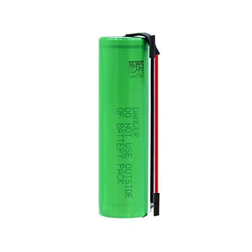 RitzyRose 3.7v 2600mah ICR 18650 26F Batería De Iones De Litio, Batería De Repuesto con 2 PestañAs para Radio De Faro 6pieces