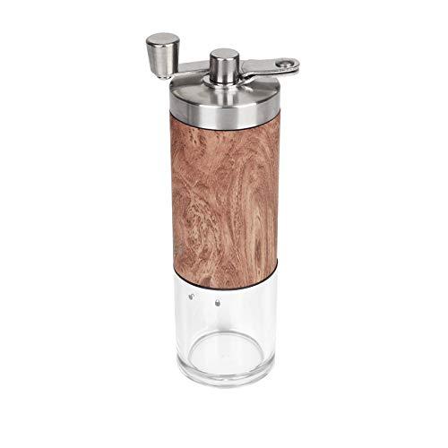 Molinillo de café manual ajustable, mini molino de mano y molinillo de café de cerámica para café expreso, compatible con AeroPress/prensa francesa/copa K, regalos de Navidad día X-mas