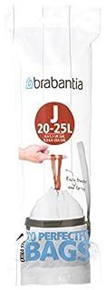 Brabantia Perfectfit J, 23L, 20 Bags, White, 23 L/Size J (B0751MWBH1) | Amazon price tracker / tracking, Amazon price history charts, Amazon price watches, Amazon price drop alerts
