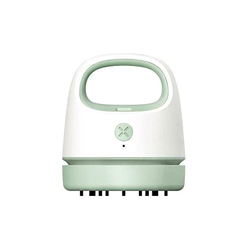 USB Charging Mini Handheld Desktop Vacuum Cleaner, Aspiradora con Teclado Mini Aspiradora de Mano Inalámbrica y Linda Mini Aspiradora de Mano Portátil para Automóvil, para Computadora Portátil