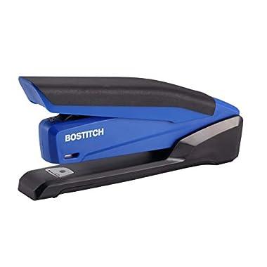 Bostitch Office InPower Spring-Powered Desktop Stapler, Blue (1122)