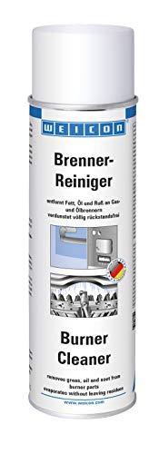 WEICON 11205500 Brennerreiniger 500ml – Entfetter & Schmutzentferner für Kamin & Ofen-Rohr, farblos