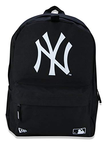 New Era Herren Herren Rucksack Mlb Stadium New York Yankees Blk Rucksack, Black, OSFM, 11942042