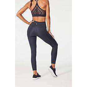 Bally Total Fitness High Rise Pocket Ankle Legging