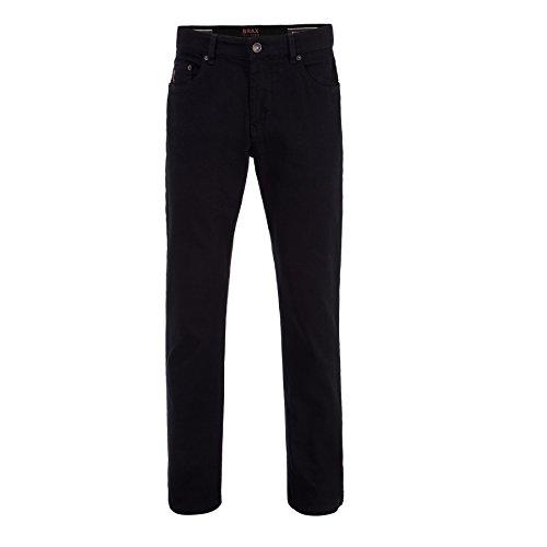 BRAX Feel Good Feel Good Herren Hose Jeans Cooper Denim – Regular Fit, Stretch, normaler Bund – Baumwolle, Baumwollstretch Perma Black 31/32