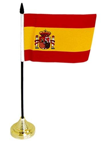 Bandera de mesa de España