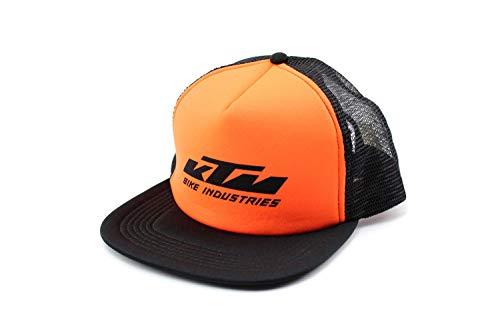 KTM Basecap Mesh-Cap Schwarz orange mit Logo, verstellbar