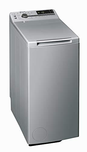 Bauknecht WMT Silver 7 BD Toplader-Waschmaschine/A+++ / 7 kg / 1152 UpM /15° Green&Clean/Startzeitvorawahl/leise mit 58dB/Mehrfach/SoftOpening/Vollwasserschutz/AquaEco