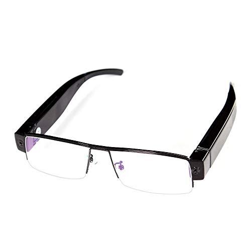 MatLogix Full HD 1080P Glasses Eyewear Spectacles Spy Camera Half Frame Hidden Cam Video Camcorder