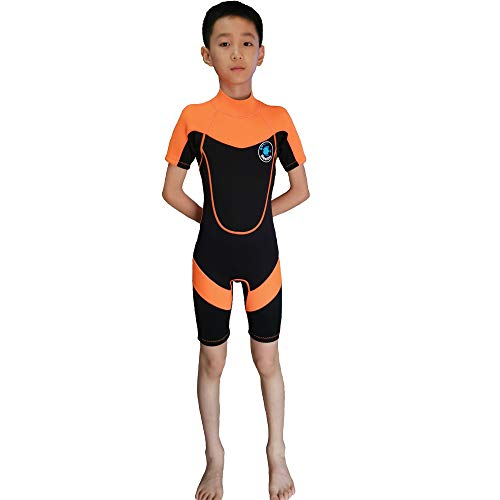 Realon Wetsuit Kids Shorties 3mm Boys Surfing Suit 2mm...