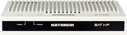 Kathrein EXIP 4124 SAT>IP Server (SAT2IP, max. 24 Teilnehmer, Gigabit LAN, K-LAN, DLAN, POWER-LAN, WLAN-Einbindung über Router, TV/Radio Livestream)