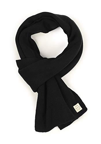 Blend Scar Herren Schal Winterschal Unisex, Größe:ONE SIZE, Farbe:Black (70155)