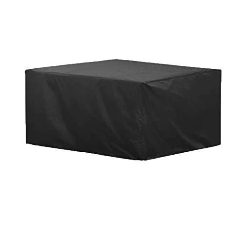 ZXHQ Cubierta Mesa De JardíN PañO 210x140x80cm, Funda Muebles JardíN, Funda Muebles Terraza Exterior Impermeable Anti Rayos UV A Prueba Viento para Mesas Y Sillas Muebles
