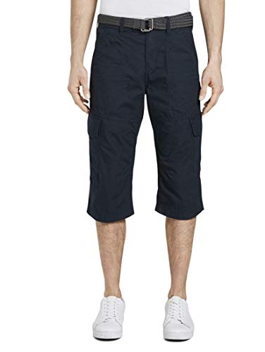 TOM TAILOR Herren Cargo Shorts Hose, 11019-Lunar Eclipse, 36