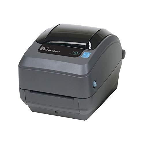 Zebra GK420T Stampante per etichette, Trasferimento termico 203 x 203 dpi, Larghezza etichetta (max.): 110 mm, USB, RS-232