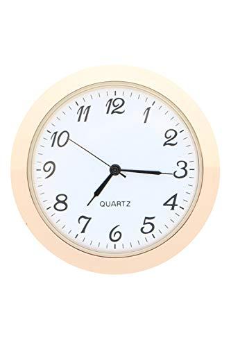 OKA CLOCK Einbauuhr Einsteckuhrwerk ARABISCH * Quarz Uhrwerk Japan * TOP Gold Ø 55 mm #4 (Gold)