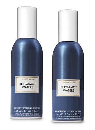 Bath and Body Works 2 Pack Bergamot Waters Room Spray 15 Oz